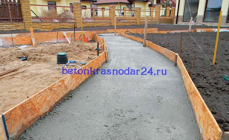 Бетон краснодар заказать сухая смесь бетонная продажа